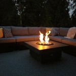 lakeshore-slate-firepit-night