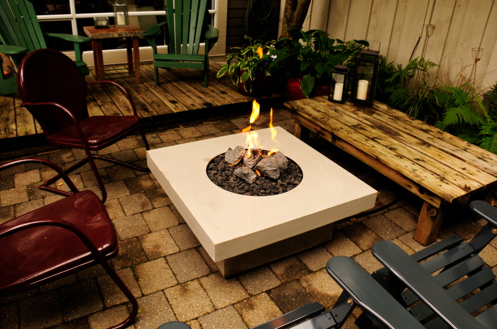 Fire Pits · View More · Indoor & Outdoor Furniture - Concrete Lifestyles Vancouver Concrete Fire Tables